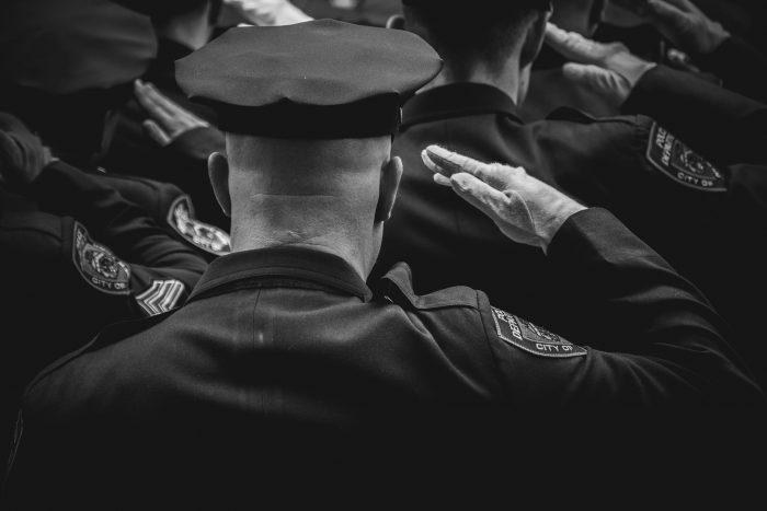 Guard Saluting - Bay Area Security Guard Companies